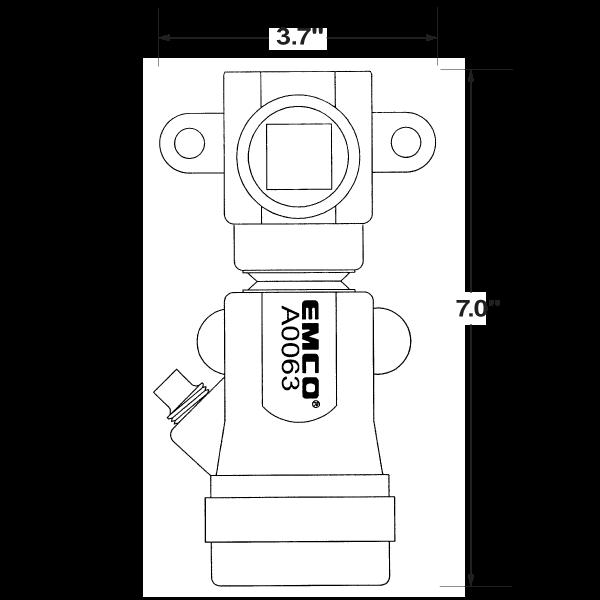 a0063evr vapor shear valve